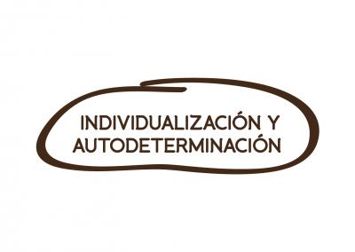 INDIVIDUALIZACIÓN Y LA AUTODETERMINACIÓN
