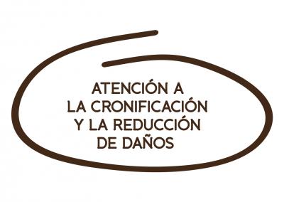 ATENCIÓN A LA CRONIFICACIÓN Y LA REDUCCIÓN DE DAÑOS
