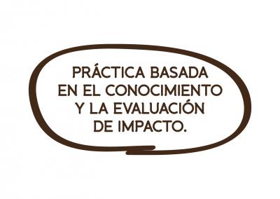 PRÁCTICA BASADA EN EL CONOCIMIENTO Y LA EVALUACIÓN DE IMPACTO.
